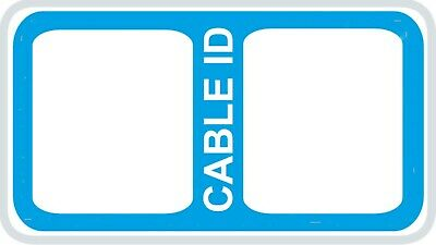 65x Cable Labels 7 Different Colours Self Adhesive Sticky Identification Labels  • 2.99£