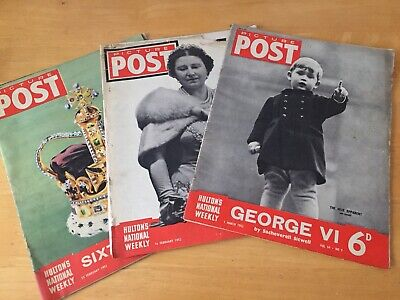 Picture Post Magazine 1940s & Illustrated Magazine Bundle • 2.80£