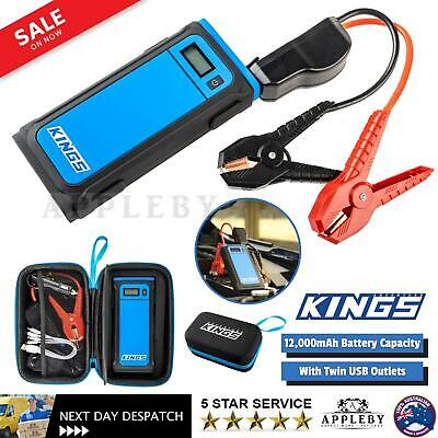AU124.59 • Buy 1000A Lithium Battery Starter Jump Starter Portable USB Power Bank 4WD Torch LED