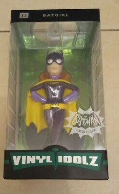 Vinyl Idolz Batman Classic TV Series Batgirl 33 New/Sealed Age 14+ • 10.95£