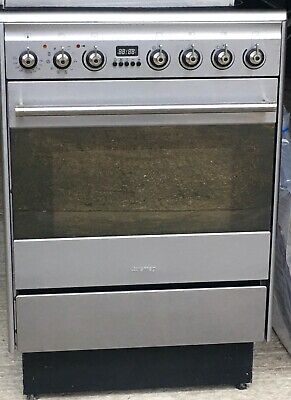Smeg Cooker -  Electric Ceramic Oven And Hob Suk61cmx5 With Instruction Manual • 62£