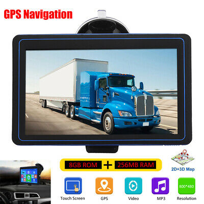 AU85.98 • Buy GPS Navigation For Car 7 Inch GPS Navigator System With Special Function For