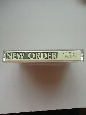 New Order Live WOMAD UK 20.07.1985 Music Cassette Tape • 4£