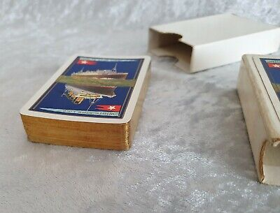 Pack Of 53 Original White Star Line Playing Cards. Titanic Interest. • 49£