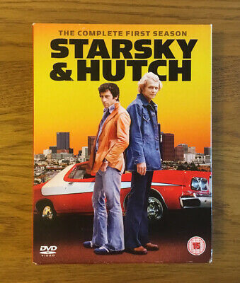 STARSKY AND HUTCH - THE COMPLETE 1st SEASON DVD BOX SET • 7£