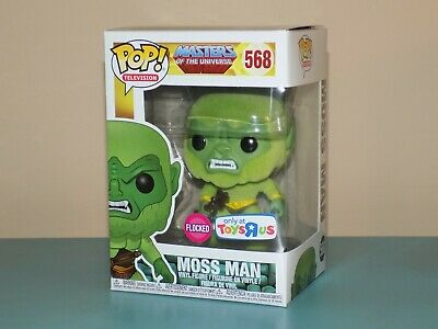 $25 • Buy Funko Pop Television Masters Of The Universe Moss Man #568 Flocked Toys R Us