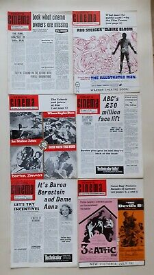 Today's Cinema Magazine 6 Issues From 1969  • 4.99£