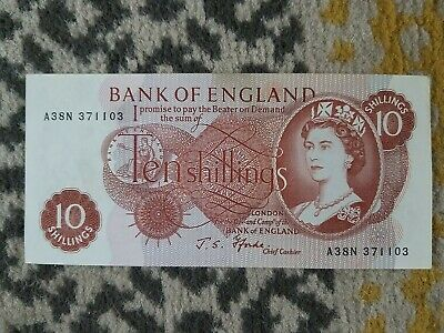 Banknotes Ten Shilling Note • 2£
