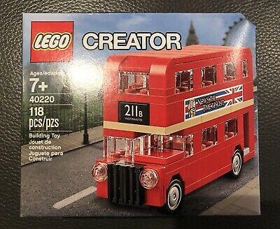 $ CDN15 • Buy LEGO 40220 Creator Double Decker London Bus RETIRED BRAND NEW & SEALED BOX Gift