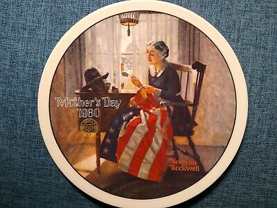 $ CDN1.28 • Buy Norman Rockwell Limited Edition Collectible Plate  A Mother's Pride  1980