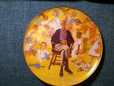 $ CDN1.28 • Buy Norman Rockwell Limited Edition Collectible Plate  Norman Rockwell Remembered