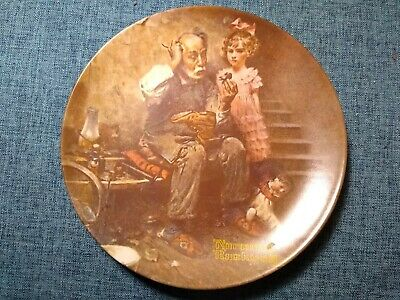 $ CDN1.28 • Buy Norman Rockwell Limited Edition Collectible Plate  The Cobbler  1978
