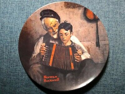 $ CDN1.28 • Buy Norman Rockwell Limited Edition Collectible Plate  The Music Maker  1981