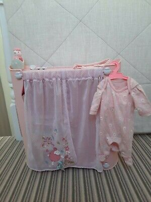 Baby Annabelle Changing / Wardrobe Unit. With Baby Annabelle & Accessories.  • 20£
