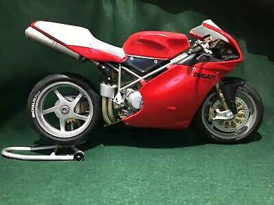 Ducati 998 R Testastretta Red Scale 1:6 Motorcycle Model RARE LARGE MODEL Used • 23£