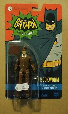 Funko Bookworm (From Batman Classic 1966 TV Show) Action Figure Sealed DC • 6.99£