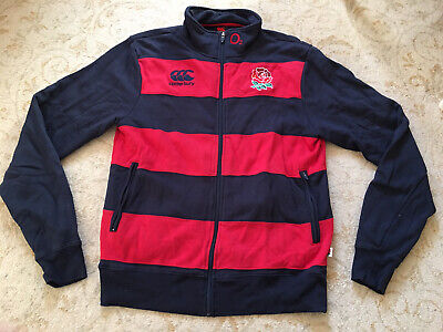 England Rugby Player Issue Training Top Jacket Size Large • 20£