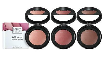 £13.99 • Buy Laura Geller Soft Matte Baked Blushers - 3 Shades, Peony Cherry Rose BOXED