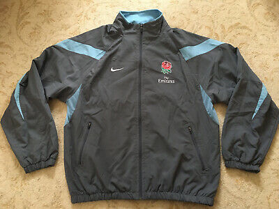 England Rugby 7's Sevens Player Issue Training Jacket Size Medium • 20£