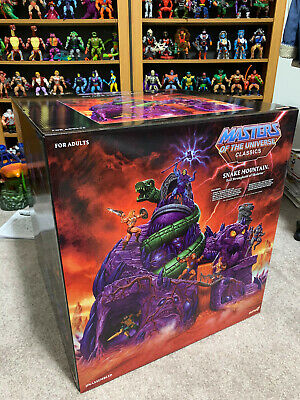 $1586 • Buy Masters Of The Universe Classics Snake Mountain In Hand Motu Super 7 Mint In Box