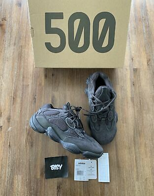 AU459.95 • Buy ADIDAS Size US7.5 Yeezy 500 F36640 Utility Black With Box