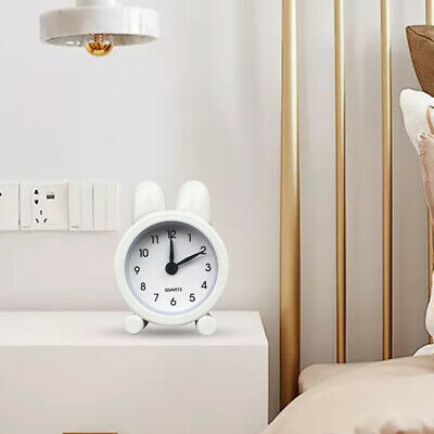 AU12.20 • Buy Kids Adult Desk Alarm Clock For Bedroom Gifts Cute Mini Metal Electronic Travel