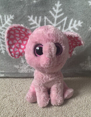 Ty Beanie Boos 37059 Sugar The Elephant - Large Size (23cm/9 Inches) • 3£