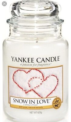 Yankee Candle Large Jar Scented Candle - Snow In Love  • 21.99£