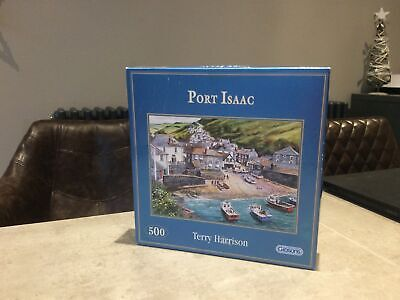 Gibsons 500 Piece Jigsaw Puzzles Used-Port Isaac By Terry Harrison -complete • 4£