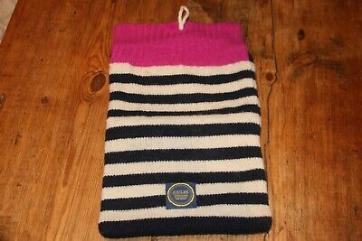 Joules Knitted Striped IPad Tablet Case  • 3£