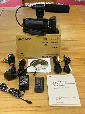 Sony HXR-MC50P Digital HD Video Camcorder  • 285£