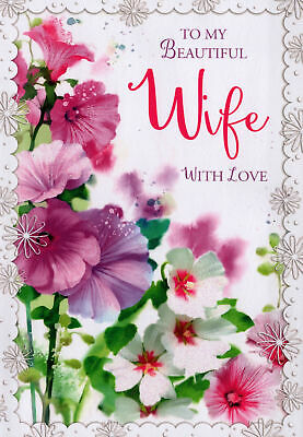£1.89 • Buy For Wife Birthday Card