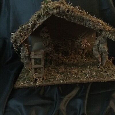 £40 • Buy Nativity Stable And Figures