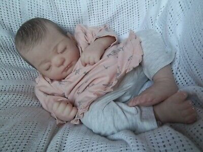 Reborn Baby Girl ~ Lucy By Marissa May ~Painted Hair!! • 120£