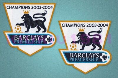 £9.99 • Buy England Premier League Champion 2003/2004 Sleeve Gold Patch / Badge Arsenal