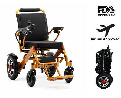 New Electric Motorized Power Wheelchair Folding Lightweight Electric Wheelchair • 975.99£