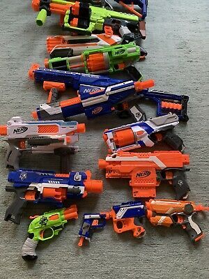 Nerf Gun Bundle With Ammo, Targets And Armour • 9.99£