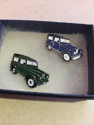 £5 • Buy Pin Badges Land Rover Blue And Green
