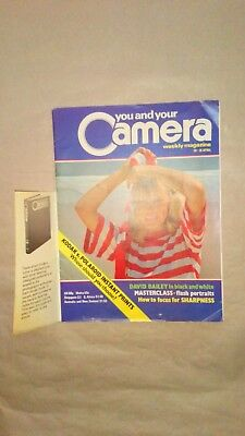 A Vintage You And Your Camera Weekly Magazine.10-16 April 1981. • 0.20£