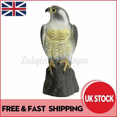 Fake Eagle Hawk Hunting Decoy Garden Patio Statues Ornaments Outdoor Decor Gift • 12.28£