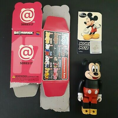 $66.78 • Buy Bearbrick  100% Serie 17 Mickey Mouse