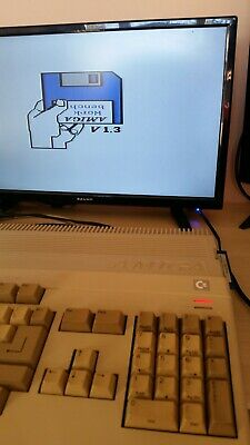 RARE VINTAGE COMMODORE AMIGA A500 COMPUTER SYSTEM With Older Red Power Led  • 65£