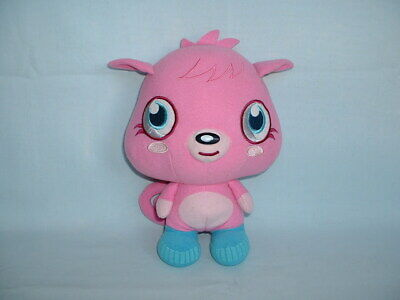 MOSHI MONSTERS POPPET Cuddly Soft Beanie Plush Toy (MIND CANDY/MOSHLINGS/PINK) • 2.99£