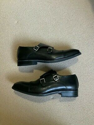 £40 • Buy Charles Tyrwhitt Goodyear Welted Shoe UK Size 10.5 Black Leather Double Buckle