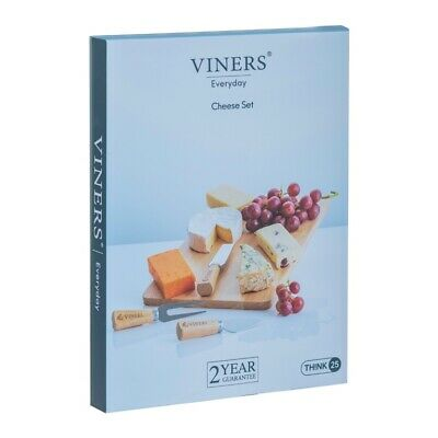 £11.95 • Buy Viners Cheese Board And Knife Gift Set Gift Boxed