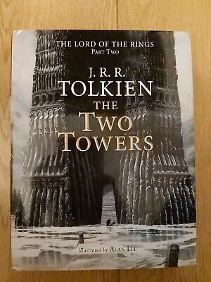 £185 • Buy The Two Towers By JRR Tolkien SIGNED By Alan Lee 1994 HB