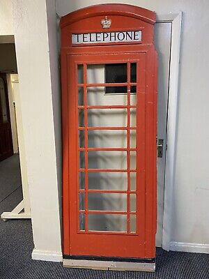 Stage Prop Telephone Box Front • 30£