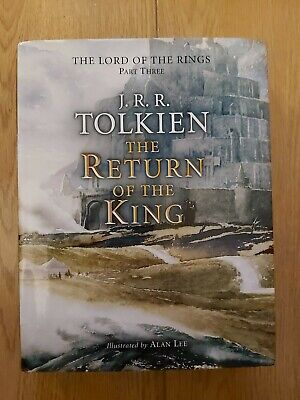 £185 • Buy The Return Of The King By JRR Tolkien SIGNED By Alan Lee 1994 HB