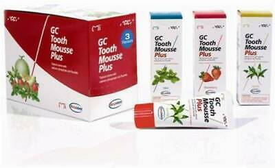 AU226.37 • Buy GC Tooth Mousse Plus Topical Tooth Crème Strengthen Tooth Surface 10pc Box.