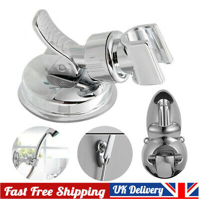 Shower Head Holder Vacuum Suction Cup Adjustable Angle Handheld Bracket Mount • 4.35£